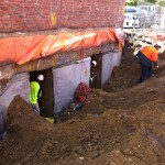 Example of underpinning in Melbourne